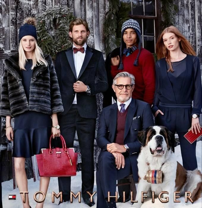 Tommy HIlfiger Holiday 2014 Campaign
