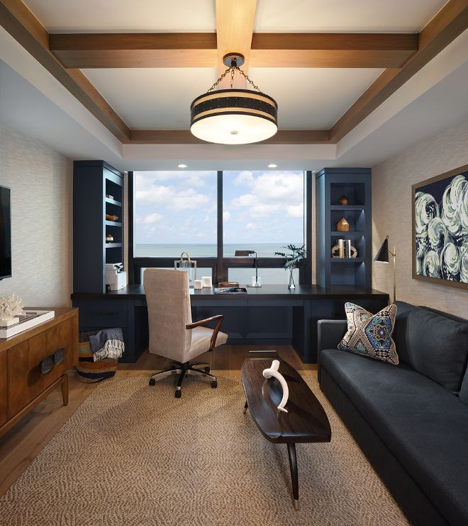 Office Den Decorating Ideas: 452 Best Home Offices & Craft Rooms Images On Pinterest