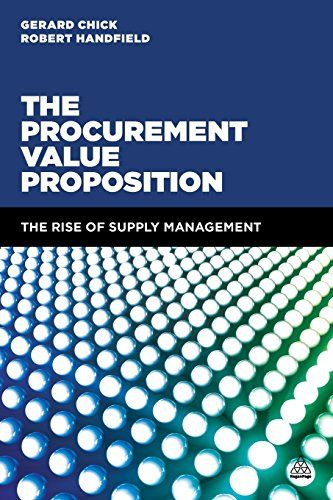 The procurement value proposition : The rise of supply management | 141.22 CHI