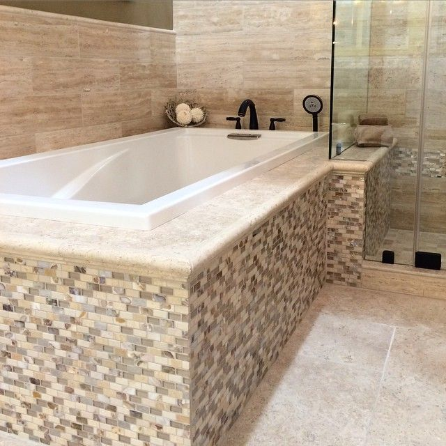 Shots From Our New Alexandria Design Center Mosaictile Tile Bathroomdesign
