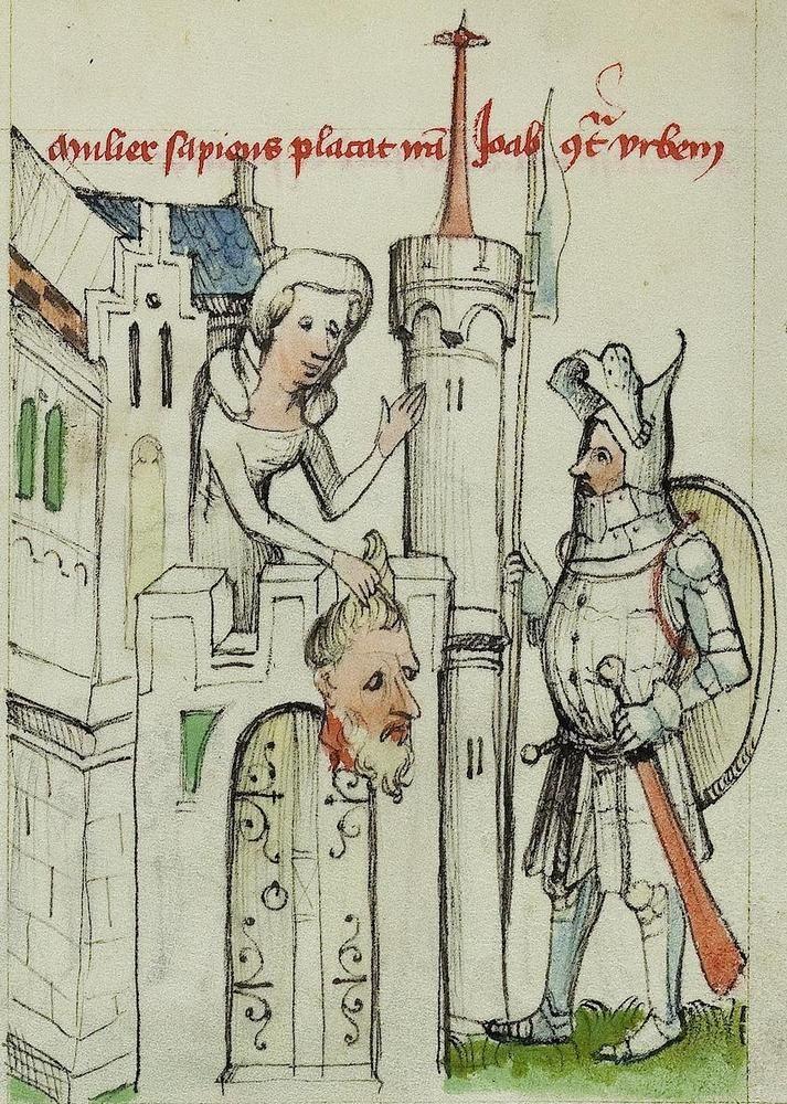 Manuscript BAV Pal.lat. 413 Speculam humane salvacionis Folio 041r Dating 1400-1450 From Österreich (exact location unknown)