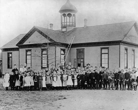 Sapperton School; 1894