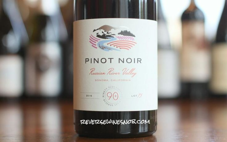 Pinot Noir done right at a price you won't believe! Reverse Wine Snob reviews the 90 Plus Cellars Russian River Valley Pinot Noir Lot 75.