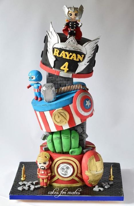 1000 Images About Super Hero Cakes On Pinterest Batman