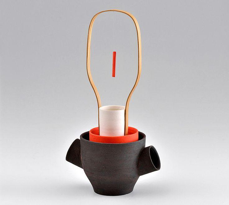 Porcelain+Stoneware+Wood #4 Samuel Accoceberry,
