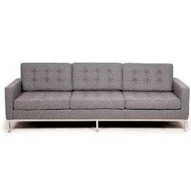 modern couch grey - $1095