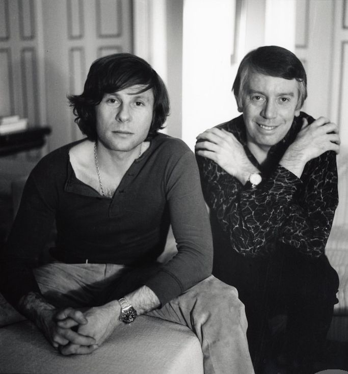Roman Polanski & Kenneth Tynan by Baron Wolman