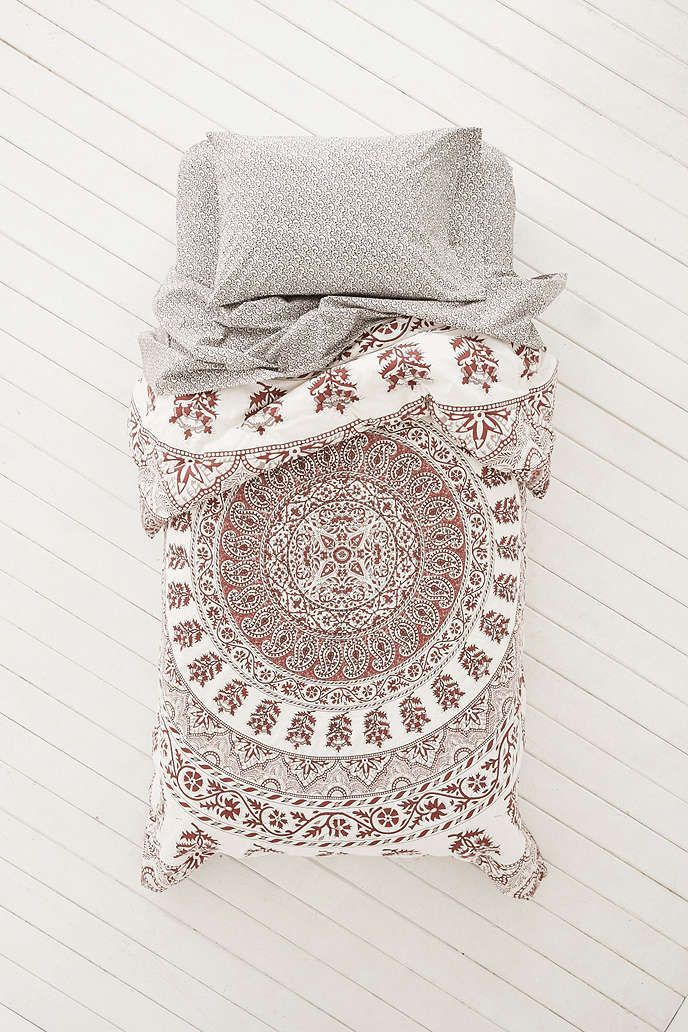 Kerala Medallion Comforter Snooze Set by Plum & Bow for Urban Outfitters.  There's always only one snooze set PERFECT for guys on the UO website. This one is the current one. I'll wait till the price drops before I snag it.