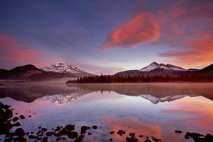 Tee off, ski, bike, paddle, hike and fish in Bend, central Oregon's high desert: http://enroute.aircanada.com/en/articles/getting-outdoors-in-bend-1 #bend #oregon #travel