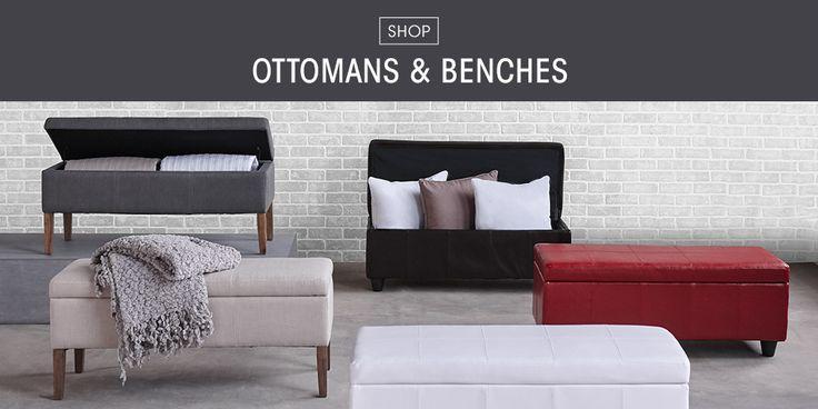 Ottomans & Benches