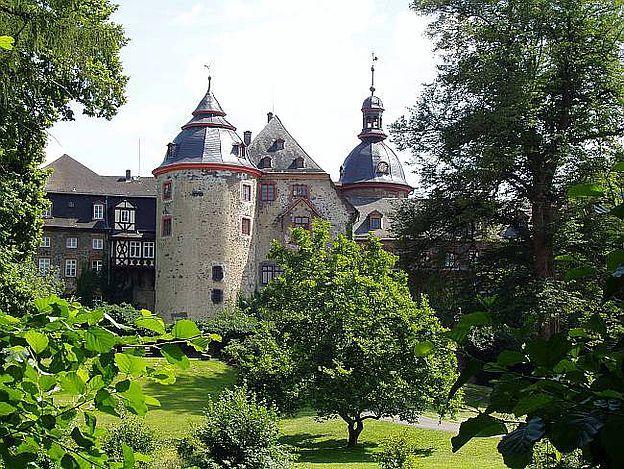 Schloss Laubach, 35321 Laubach im Landkreis Gießen, Hessen. © Schloss Laubach