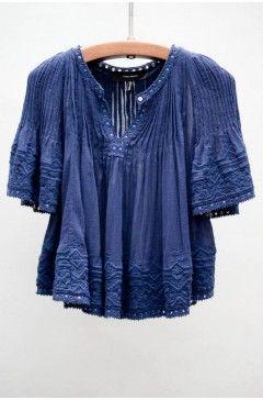 Isabel Marant Blue Alexia Top   $525