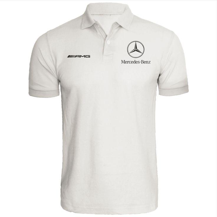 Mercedes Benz Polo Shirt Amg Automotive Racing Dtm Quality