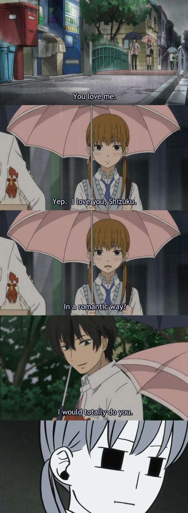 ahhahahahahah my little monster anime