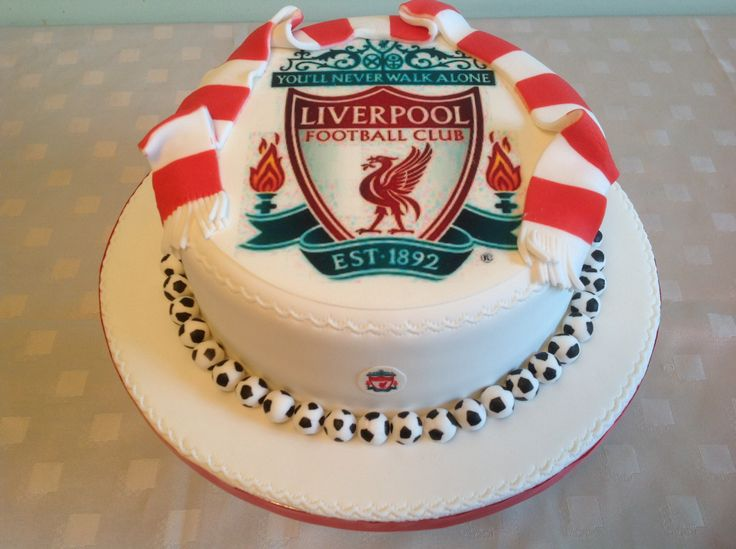 Liverpool supporters cake