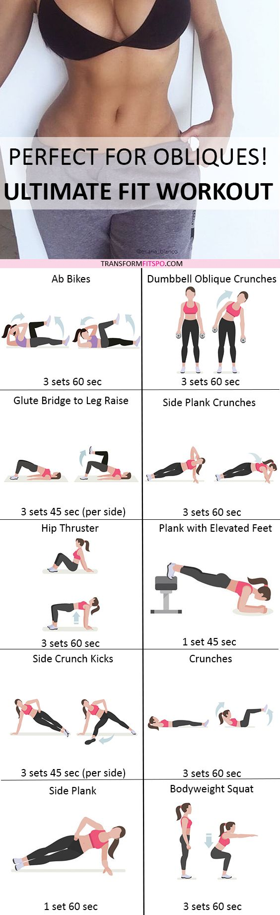 Repin and share if this workout worked wonders for your core! Read the post for all the workout information! 1 Yoga Tip For a Tiny Belly...
