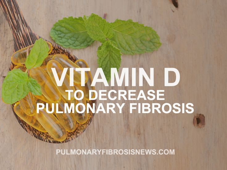 Read more about Vitamin D used to decrease Pulmonary Fibrosis