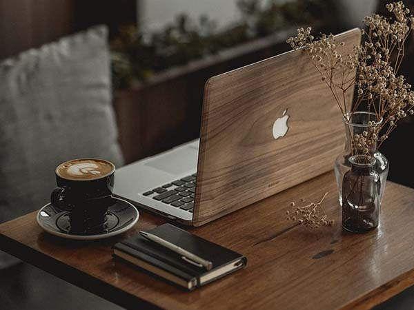 Handmade Wooden MacBook Covers