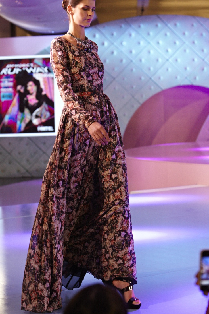 Maxi Dress with Madison and Foxtel Project Runway Australia @ 30 Days of Fashion and Beauty