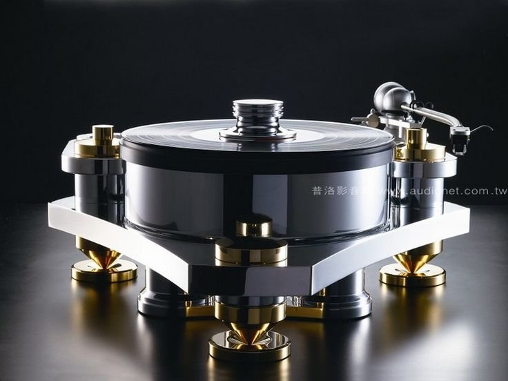 Wizard High-End Audio Blog: Nu Coil Nu Magrotor turntable