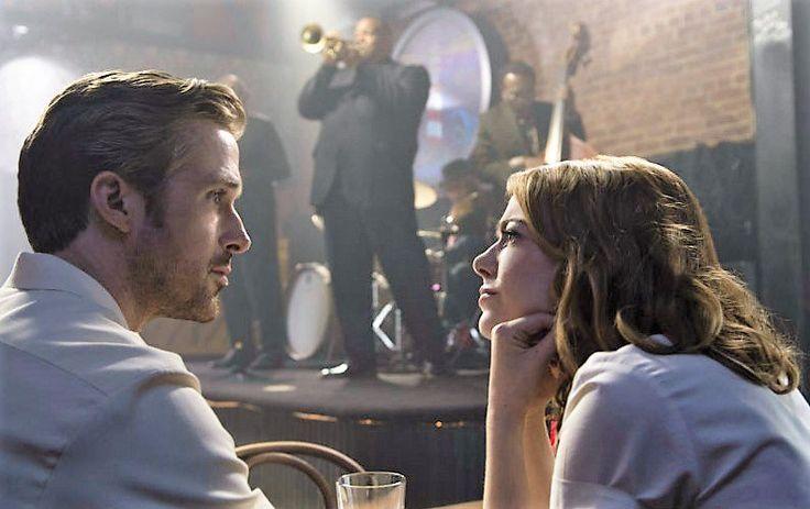 """Si es bonito, que más da que nadie lo entienda.   Foto: Ryan Gosling, Enma Stone - """"La La Land""""."""