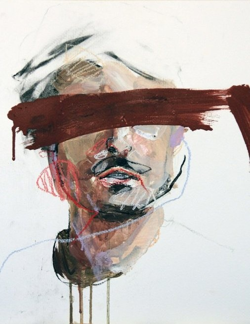 AUTOPORTRAIT by Lou Ros, via Behance