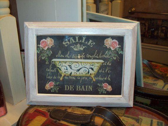 25 best ideas about paris bathroom decor on pinterest girl bathroom decor - Salle de bain shabby chic ...
