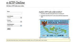 Penting! Ini Dia Cara Cek Status e-KTP Online