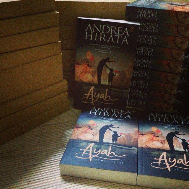 Ayah sebuah Novel by Andrea Hirata siap kirim  yang belum pesan silahkan order ke 089628519266