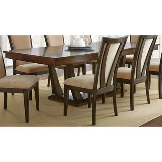 Greyson living gillian 8 foot pedestal dining table by for Dining table set deals