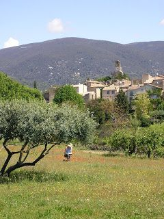 Lourmarin this photo does not do justice To one Of the most beautiful village in Provence. There is a little secret road To discover inside the village if u go there ask the locals a Must do And visit