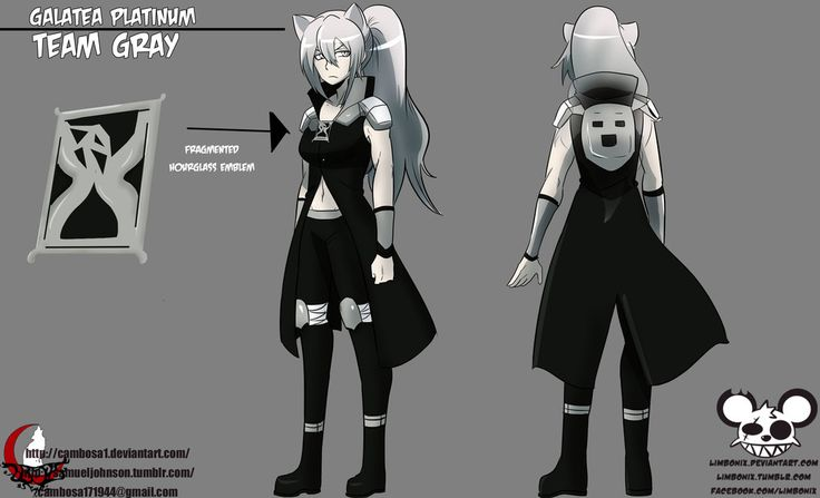RWBY OC: Team GRAY - Galatea Platinum by Cambosa1 on DeviantArt