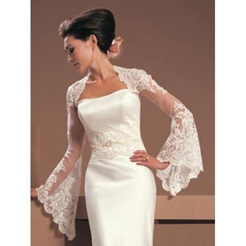 76 best Lace wedding jackets images on Pinterest