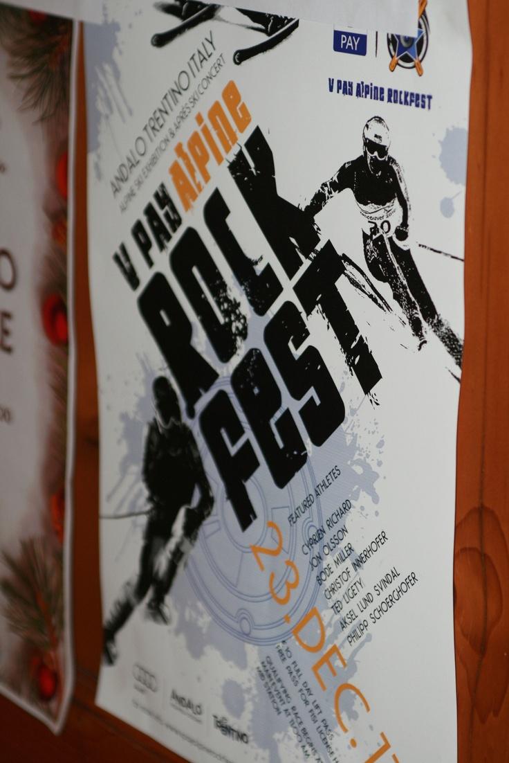 21 dicembre, il Rockfest è nell'aria ... e sulle locandine