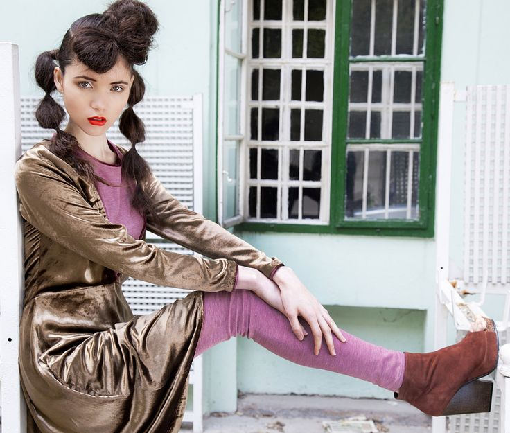 GOLD VELVET SILK dress decolleté dress 100% pure by NATIPUREIDEA