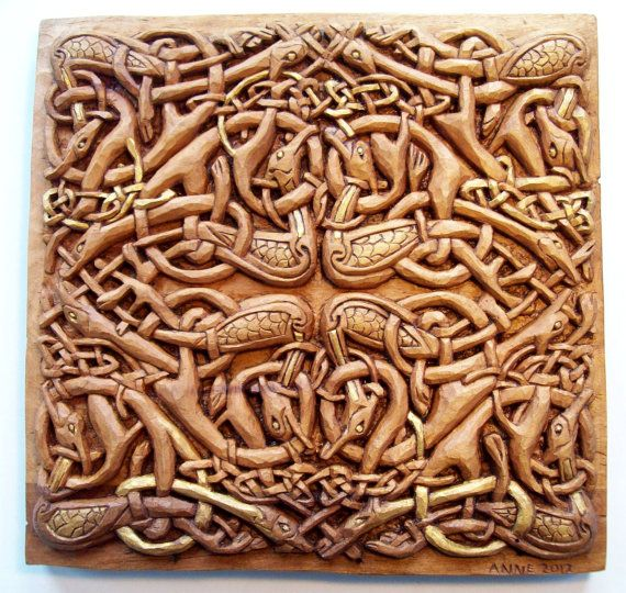 Best celtic carvings images on pinterest carved wood