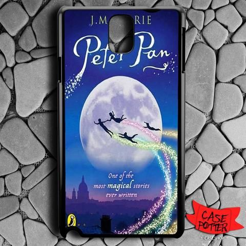 Peter Pan Samsung Galaxy Note 3 Black Case