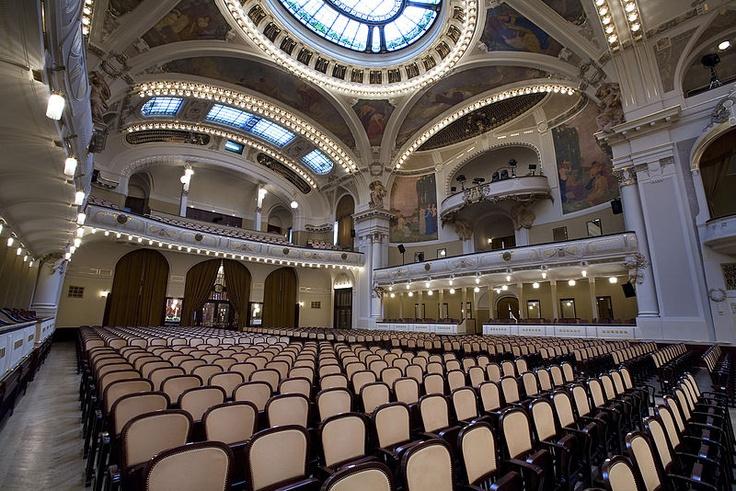 Smetana Hall at the Municipal House, Prague