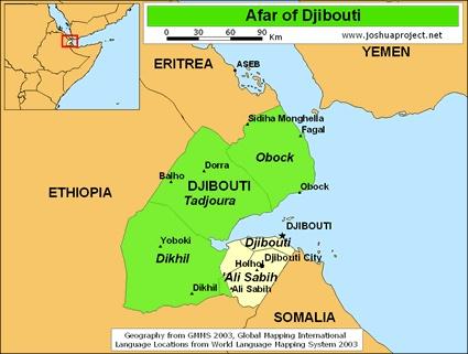 Best Djibouti Map Ideas On Pinterest Djibouti Capital Horn - Djibouti map