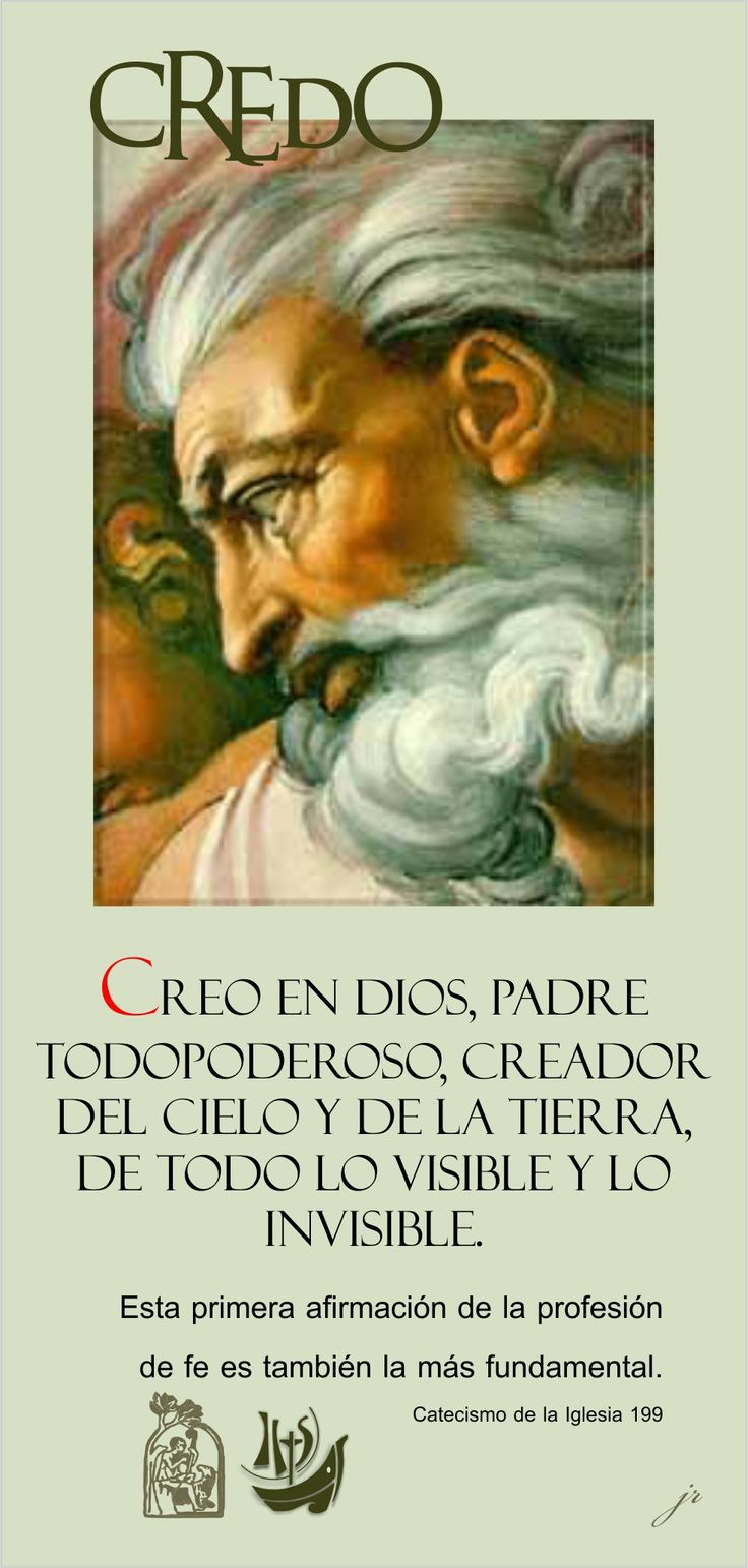 The 25 best El credo catolico ideas on Pinterest  Padre nuestro