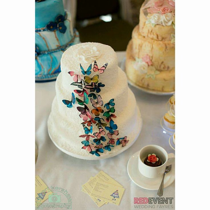Delicious wedding cakes by Beverly Hughes Cakes was a popular choice at Macdonald Craxton Wood Hotel & Spa Wedding Fayre this Autumn. They offer princess castles cakes and marble cake to silk flowers and butterfly cakes! 😍 Which one is your favourite? Our next Wedding Fayre here will be on Sunday 28th January 💖🎂💒 📸  Robert Kershaw Wedding photography www.redeventweddingfayres.com