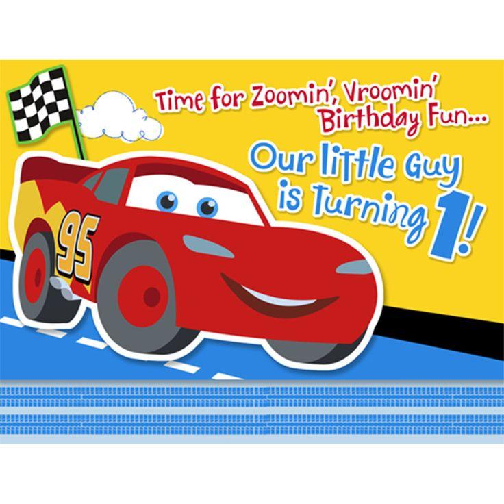 Mejores 19 imgenes de party invites en pinterest fiestas de disney 1st birthday cars invitations solutioingenieria Images