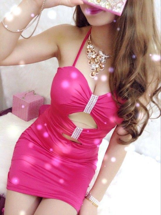 Lovely Rose Silk Sheath Mini Sexy Style Day To Night Dress