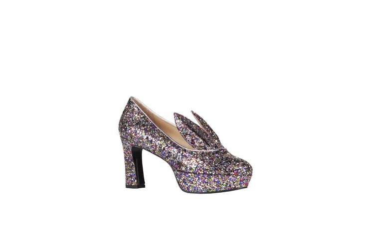 Shoes I love!!! <3 MINNA-PARIKKA-HARE-GLITTER-MULTICOLOUR www.fannyalexandra.com