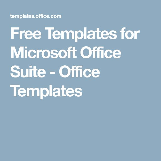 office suite templates