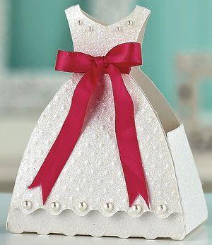 Caixinha Festa Vestido - Nara Belle