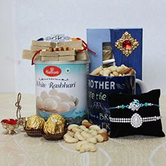 Buy Rakhi Gift Hamper online from sendrakhi.com with same day delivery at Reasonable price. Send Fresh Rakhi Gift Hamper to India to your loved one.