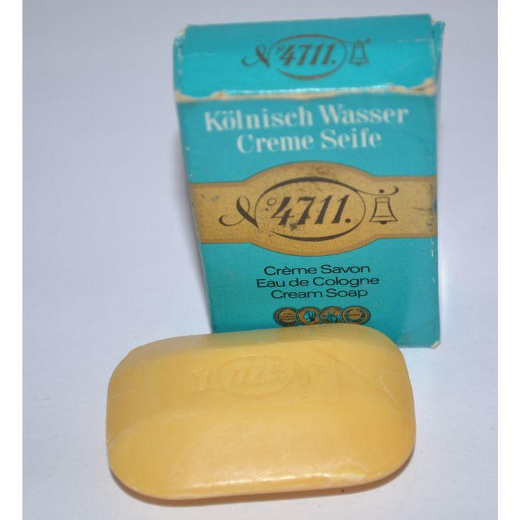 Vintage 4711 Eau De Cologne Creme Soap