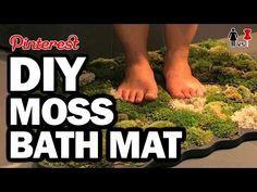 DIY Moss Bath Mat, Corinne VS Pin #28 – YouTube Mo…