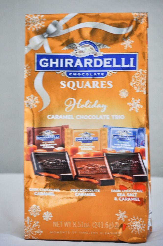 Ghirardelli Chocolate Squares Caramel Chocolate Trio 8.51 oz. #Ghirardelli